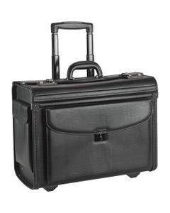 """Lorell Carrying Case for 16"""" Notebook - Black - Vinyl - Handle"""