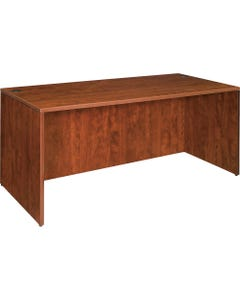 "Lorell Essentials Desk - 47.3"" x 23.6"" x 29.5"" - Finish: Cherry, Laminate"
