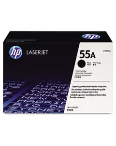 HP Hp 55A, (Ce255A) Black Original Laserjet Toner Cartridge