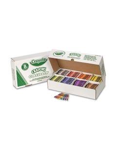 Crayola® Classpack Regular Crayons, 8 Colors, 800/Bx