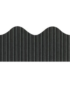 """Bordette Decorative Border - Black - 2.25"""" x 50' - 1 Roll/Pkg"""