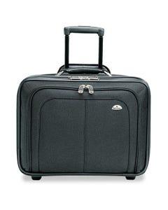 Samsonite® Mobile Office Rolling Notebook Case, Nylon, 17 1/2 X 9 X 14, Black