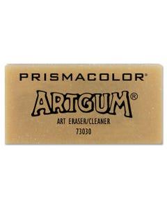 Prismacolor® Artgum Eraser, Rectangular, Large, Off White, Kneaded Rubber, Dozen
