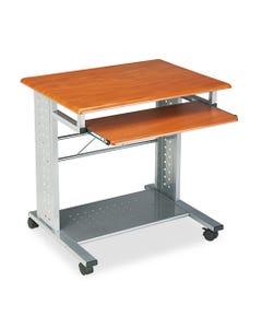 Safco® Empire Mobile Pc Cart, 29.75W X 23.5D X 29.75H, Medium Cherry
