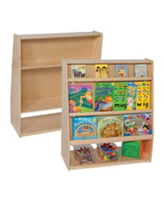 """Mobile Library, 44""""H x 30""""W x 18""""D"""