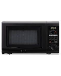 Avanti 0.7 Cubic Foot Capacity Microwave Oven, 700 Watts, Black
