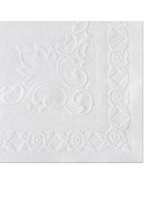 Hoffmaster® Classic Embossed Straight Edge Placemats, 10 X 14, White, 1,000/Carton