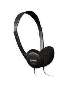 Maxell® Hp-100 Headphones, Black