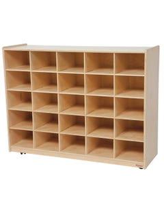 """25 Tray Storage without Trays, 38""""H x 48""""W x 15""""D"""