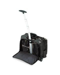 Kensington® Contour Rolling Laptop Case, Nylon, 17-1/2 X 9-1/2 X 13, Black