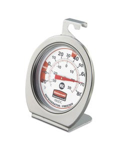 Rubbermaid® Commercial Refrigerator/Freezer Monitoring Thermometer, -20F To 80F