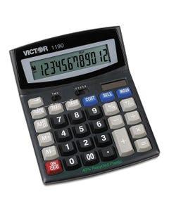 Victor® 1190 Executive Desktop Calculator, 12-Digit Lcd