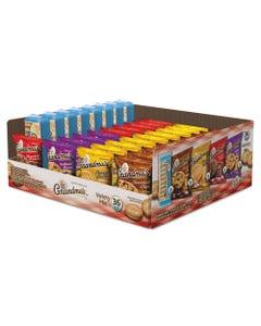 Grandma's® Cookies Variety Tray 36 Count, 2.5 Oz Packs