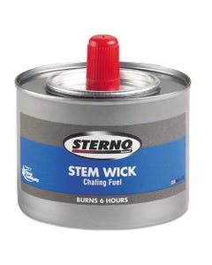 Sterno® Chafing Fuel Can With Stem Wick, Methanol,1.89G, Six-Hour Burn, 24/Carton