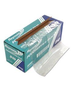 """Pvc Film Roll W/cutter Box, 12"""" X 2000 Ft, Clear"""