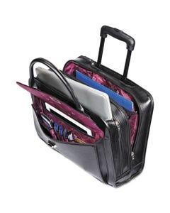Samsonite® Women'S Rolling Mobile Office, 16 1/2 X 6 X 12 3/4, Black