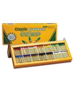 Oil Pastels,12-Color Set, Assorted, 336/pack