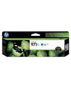 HP Hp 971Xl, (Cn626Am) High Yield Cyan Original Ink Cartridge