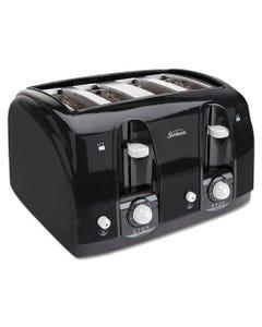 Sunbeam® Extra Wide Slot Toaster, 4-Slice, 11 3/4 X 13 3/8 X 8 1/4, Black