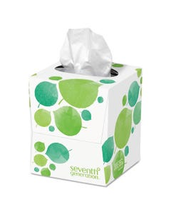 Seventh Generation® 100% Recycled Facial Tissue, 2-Ply, White, 85 Sheets/Box