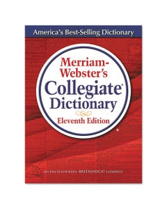 Merriam Webster® Merriam-Webster'S Collegiate Dictionary, 11Th Edition, Hardcover, 1,664 Pages