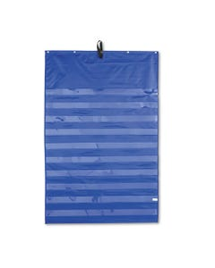 Carson-Dellosa Education Essential Pocket Chart, Ten Clear And One Storage Pocket, Grommets, Blue, 31 X 42