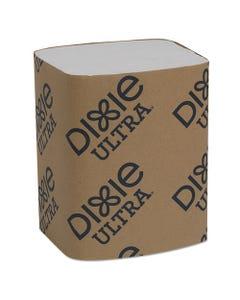 """Dixie Ultra® Interfold Napkin Refills Two-Ply, 6 1/2"""" X 9 7/8"""", White, 6000/Carton"""