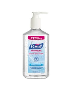 Advanced Instant Hand Sanitizer, 12-Oz. Pump Bottle