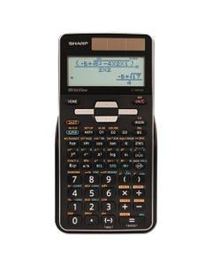 Sharp® El-W516Tbsl Scientific Calculator, 16-Digit Lcd