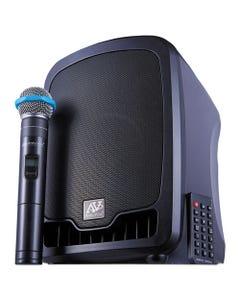 AmpliVox® Bluetooth Wireless Portable Media Player Pa System, 36W, Black
