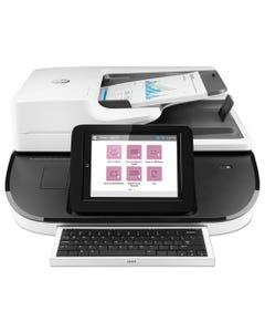 HP Digital Sender Flow 8500 Fn2 Document Capture Workstation, 600 Dpi Optical Resolution, 150-Sheet Duplex Auto Document Feeder