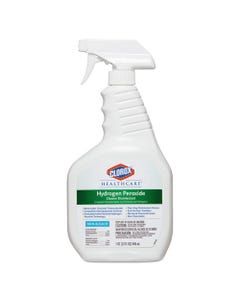 Clorox® Healthcare® Hydrogen-Peroxide Cleaner/Disinfectant, 32Oz Spray Bottle