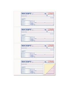 Adams® Receipt Book, 7 5/8 X 11, Three-Part Carbonless, 100 Forms