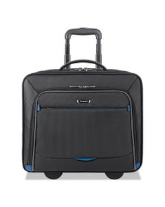 """Solo Active Rolling Overnighter Case, 7.75"""" X 14.5"""" X 14.5"""", Black"""