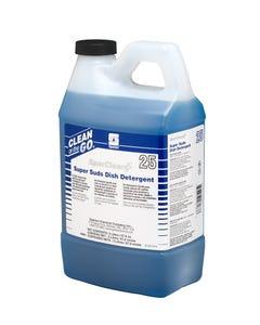 SparClean Super Suds Manual Dish Detergent Pleasant Fragrance 2 LITER 4/CS