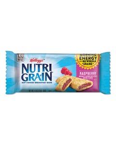 Kellogg's® Nutri-Grain Soft Baked Breakfast Bars, Raspberry, Indv Wrapped 1.3 Oz Bar, 16/Box