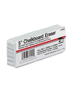 "Charles Leonard® 5-Inch Chalkboard Eraser, 5"" X 2"" X 1"""