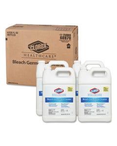 Clorox® Healthcare® Bleach Germicidal Cleaner, 128 Oz Refill Bottle, 4/Carton