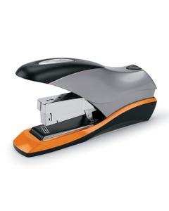 Swingline® Optima 70 Desktop Stapler, 70-Sheet Capacity, Silver/Black/Orange