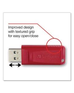 Verbatim® Store 'N' Go Usb Flash Drive, 4 Gb, Assorted Colors, 3/Pack