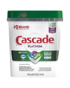 Cascade® Actionpacs, Fresh Scent, 34.5 Oz, 62/Bag, 3 Bags/Carton