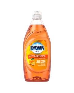 Dawn® Ultra Antibacterial Dishwashing Liquid, Orange Scent, 28 Oz Bottle, 8/Carton
