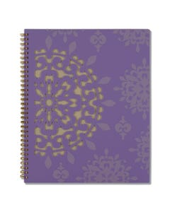 Cambridge® Vienna Weekly/Monthly Appointment Book, 11 X 8.5, Purple, 2021