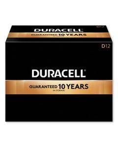 Duracell® Coppertop Alkaline D Batteries, 12/Box