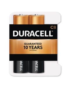 Duracell® Coppertop Alkaline C Batteries, 8/Pack