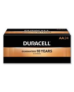 Duracell® Coppertop Alkaline Aa Batteries, 24/Box