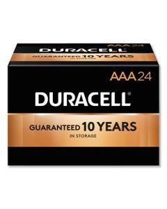 Duracell® Coppertop Alkaline Aaa Batteries, 24/Box