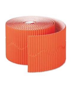 """Pacon® Bordette Decorative Border, 2 1/4"""" X 50' Roll, Orange"""