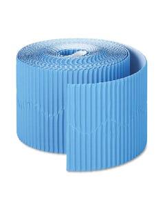"""Pacon® Bordette Decorative Border, 2 1/4"""" X 50' Roll, Brite Blue"""