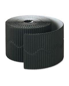 """Pacon® Bordette Decorative Border, 2 1/4"""" X 50' Roll, Black"""